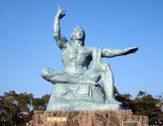 長崎:平和の像